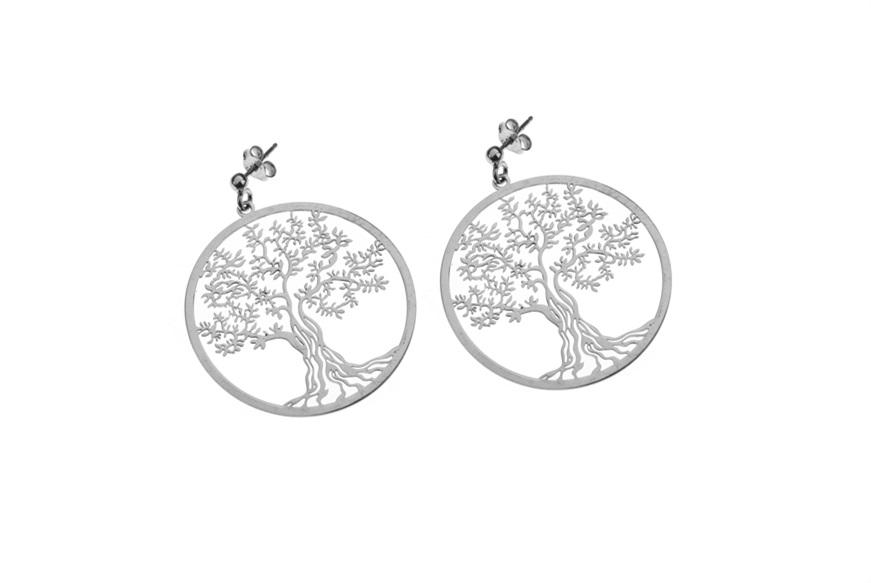 boucle d'oreille arbre de vie